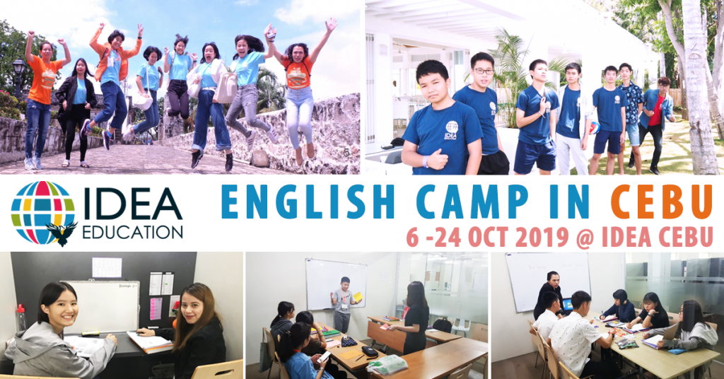 October Camp in Cebu 2019 @ IDEA CEBU