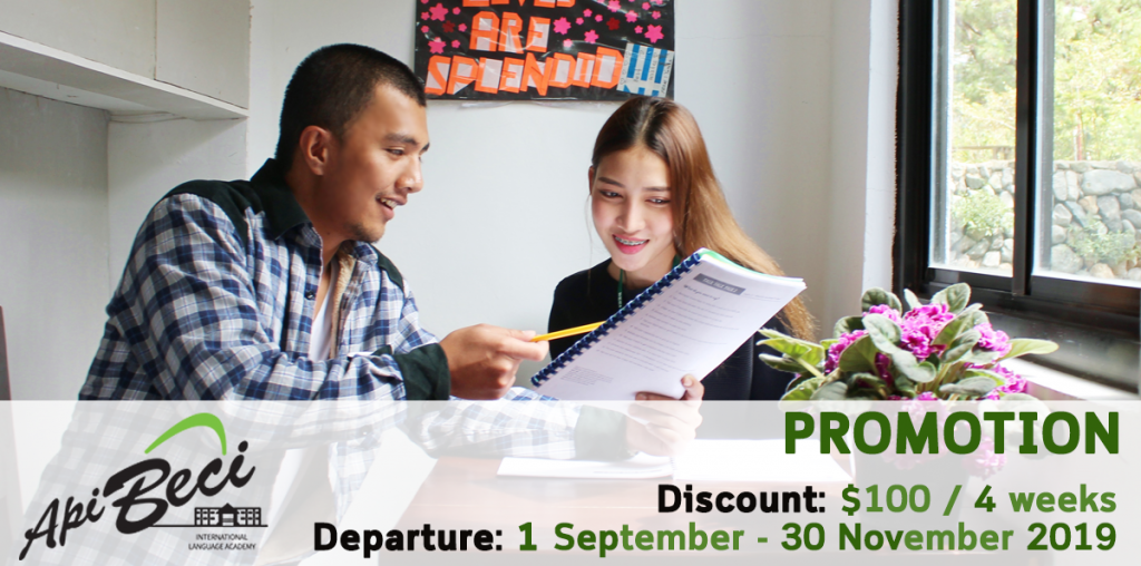 [Promotion] สถาบันภาษา API BECI International Language Academy, Baguio