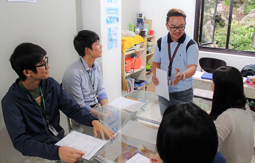 หลักสูตร TOEIC Course @ สถาบัน API BECI International Academy, Baguio